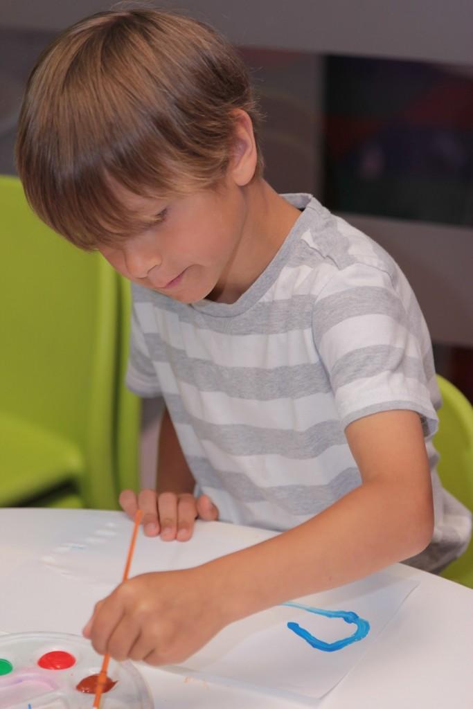 chłopiec rysunek