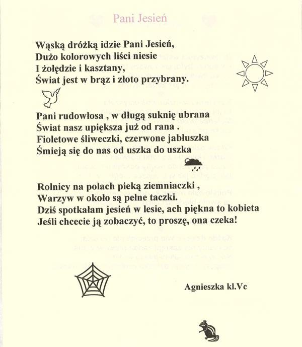 Wiersz O Jesieni Który Przepowiedział Przyszłość Czyli
