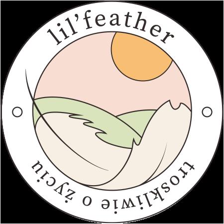 Logo lil'feather - troskliwie o życiu
