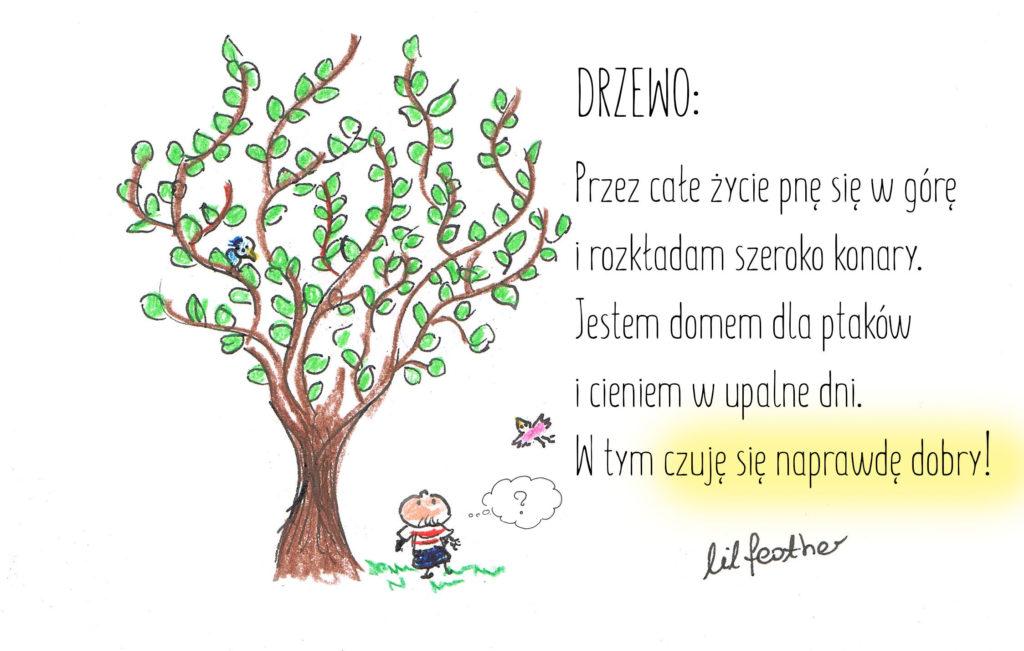 Drzewo bajka o szczęściu
