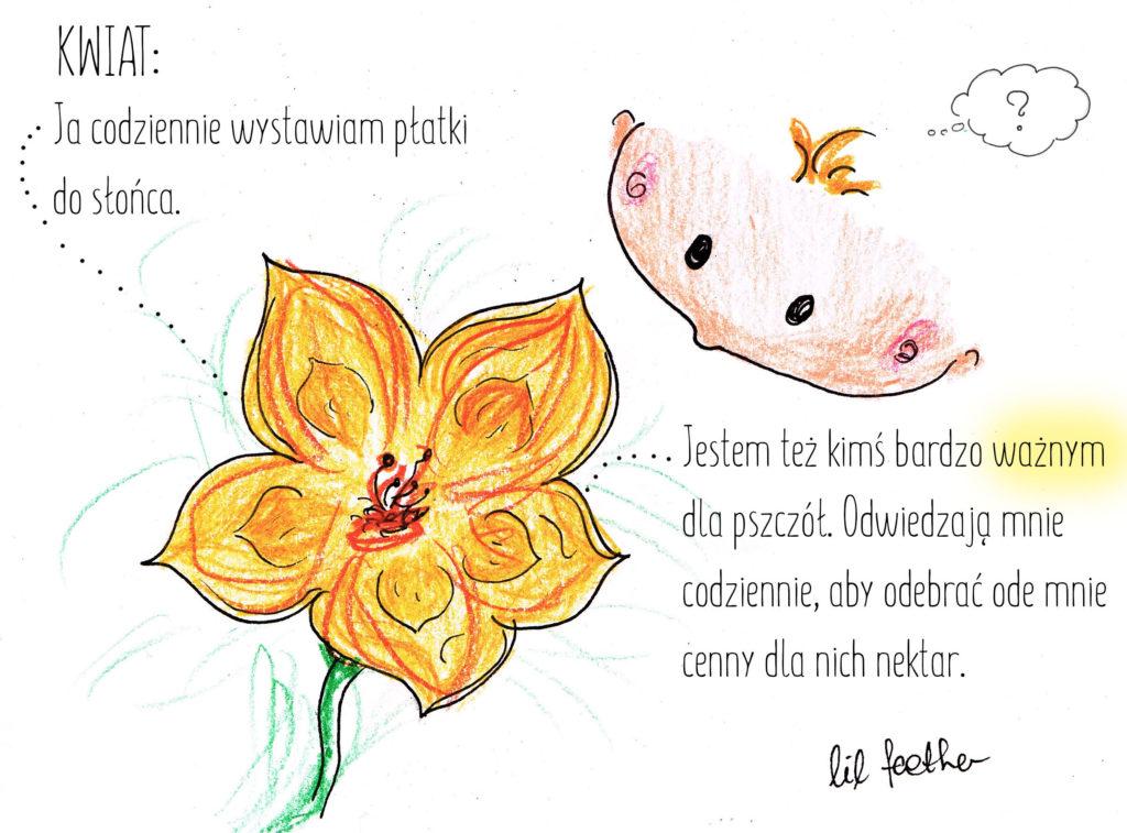 Kwiat bajka o szczęściu